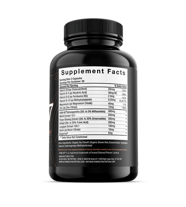 Force X7 Ingredients