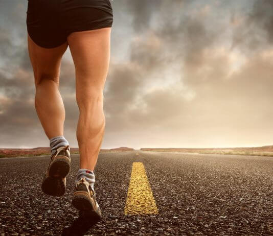 running for testosterone