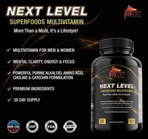 Alpha Wolf Next Level SuperFoods Multivitamin
