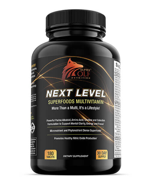 Next Level Superfoods Multivitamin by Alpha Wolf Nutrition
